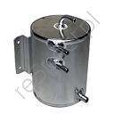 Alloy Fuel Swirl Pot 2 Ltr Bulk Head Mount (A030)