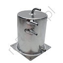 Alloy Fuel Swirl Pot 2 Ltr Base Mount (A029)