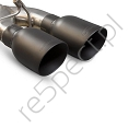 SCORPION CAT BACK EXHAUST BLACK TIPS HONDA CIVIC TYPE R FK2 TURBO 15+