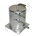 Alloy Fuel Swirl Pot 1 Ltr Base Mount