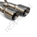 SCORPION CAT BACK EXHAUST POLISHED TIPS HONDA CIVIC TYPE R FK2